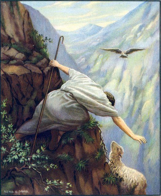 Lost Sheep - Alfred Soord