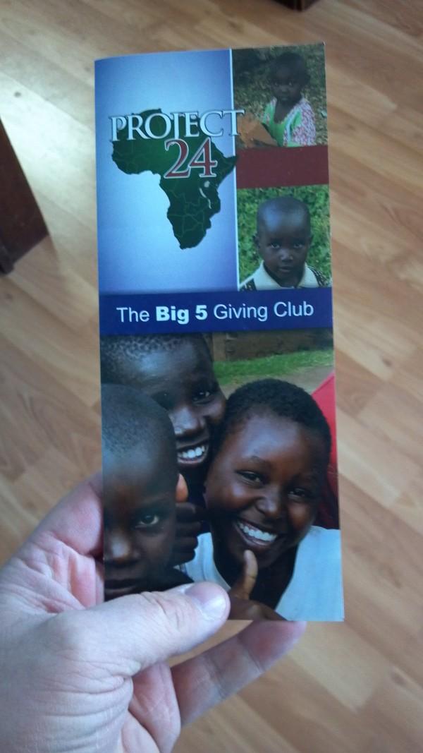 Big 5 brochure