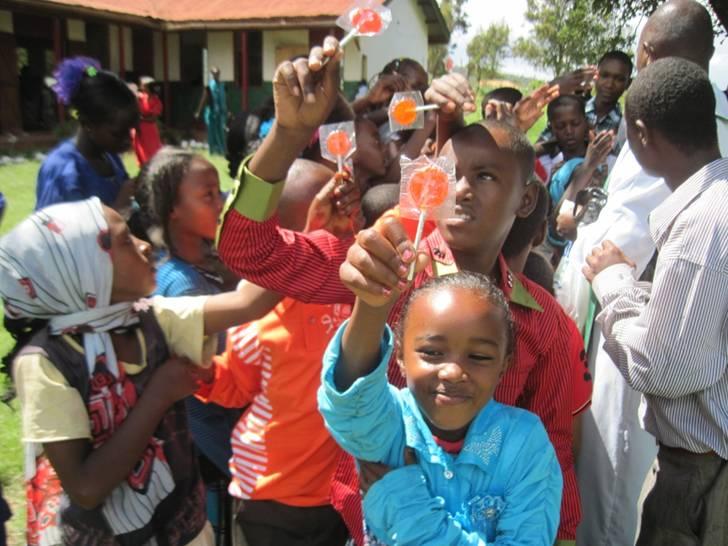 Hankinson Lollipops in Kenya
