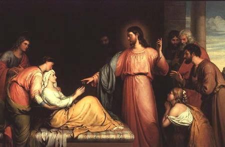 Jesus Heals Peter's Mother in Law