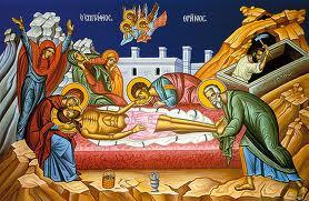 jesus laid in tomb