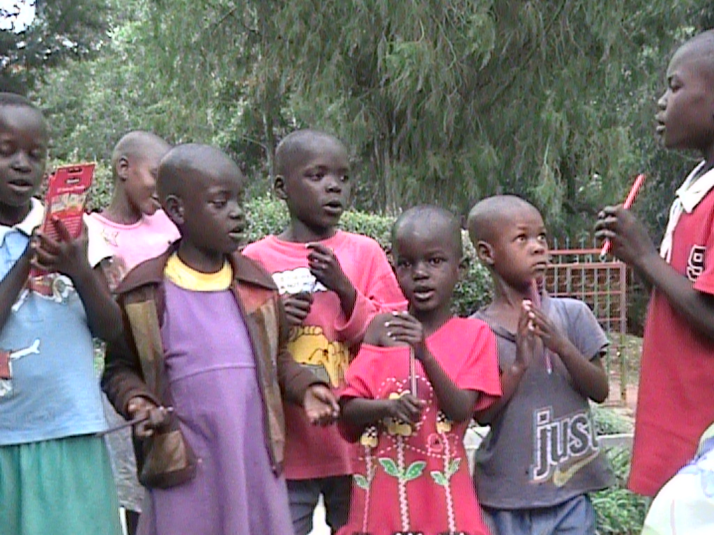 Children at Motango