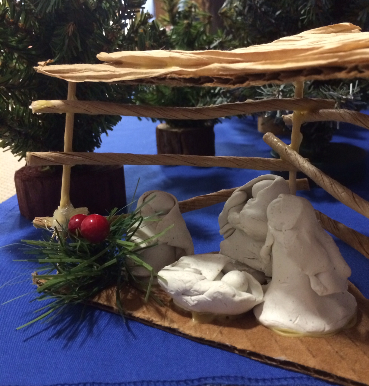 manger scene by Halliday