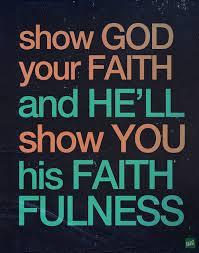 show god faith