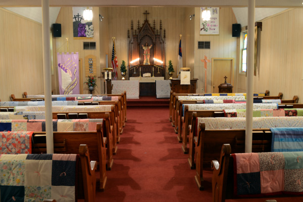 quilts at Trinity
