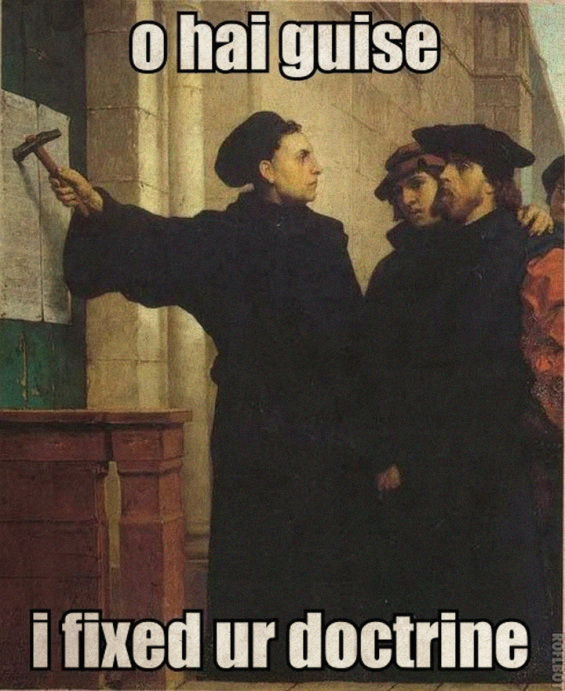 Luther Joke